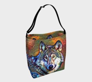 Aura of the Wolf Tote Bag preview