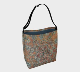 Taggart Spring Flower of Life Tote Bag preview