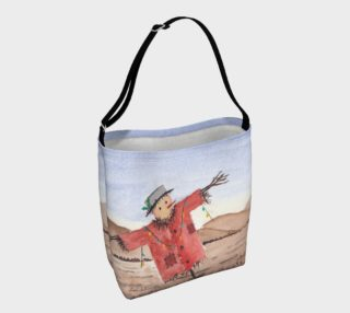 Christmas Scarecrow Day Tote preview