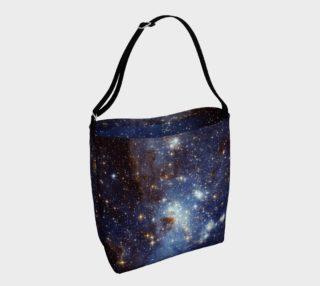Aperçu de Blue Nebula Space Stars