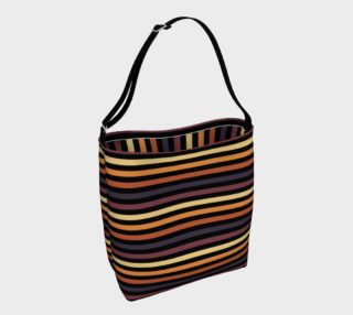 African Sunset Modern Stripes  preview