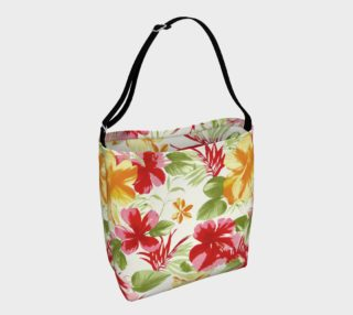 Aperçu de Tropical Hibiscus Floral Fiesta