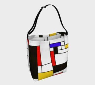 Mondrian Style Art preview