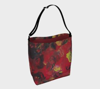 Midnight Blooms Day Tote preview