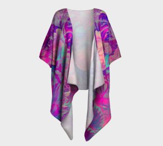 roses purple draped kimono preview