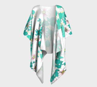 Tropical Summer Draped Kimono preview