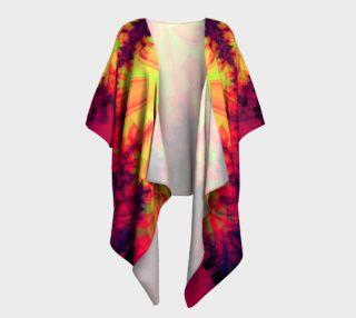 Spreading Blob Draped Kimono preview