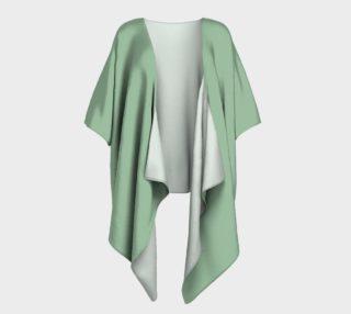 Aperçu de Draped Kimono in Spring Green