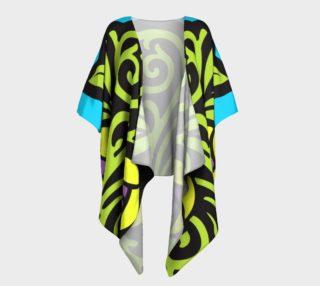 Bold and Beautiful Draped Kimono preview