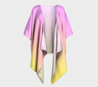 Aperçu de Infinite Possibilities Draped Kimono