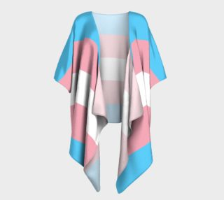 Transgender Draped Kimono preview