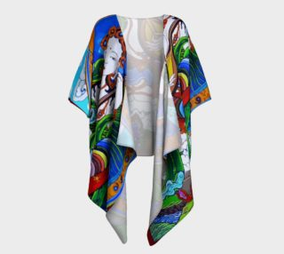 Охин тэнгэр drapped kimono preview