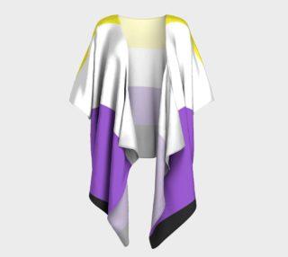 Nonbinary LGBT Draped Kimono preview
