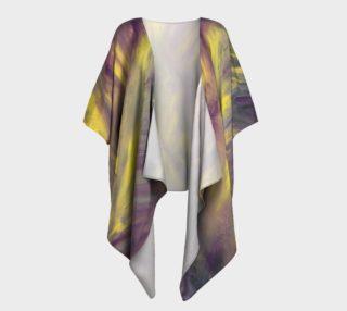 Gold Rush Draped Kimono preview