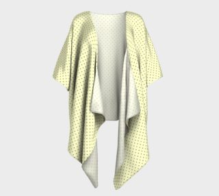 GREY & LINEN DARK POLKA DRAPED KIMONO preview