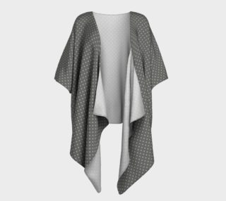 GREY & LINEN LIGHT SIGNATURE DRAPED KIMONO preview