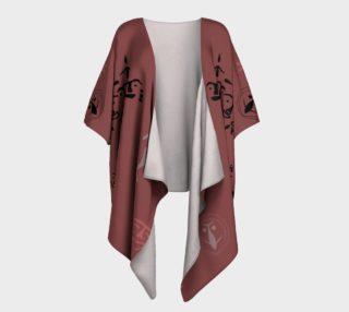 Maroon Kimono preview