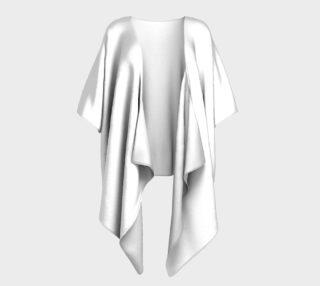White Draped Kimono preview