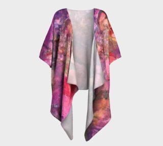 Unfolding Flowers Draped Kimono preview