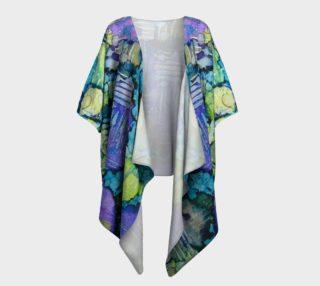 Spring Weave Ink #4 Drapaed Kimono preview
