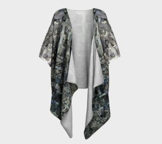 Sumi Squares Ink #11 Draped Kimono preview
