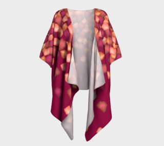 Falling Leaves Draped Kimono preview