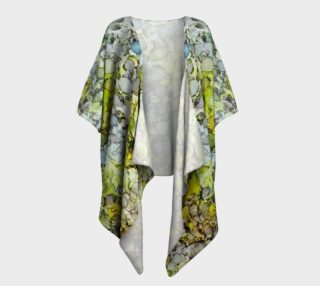 Vernal Showers Ink #12 Draped Kimono preview