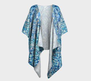 Indigo Trails Ink #14 Draped Kimono preview