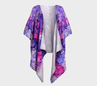 Raspberry Rain Ink #19 Draped Kimono preview