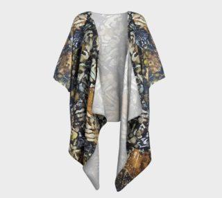 Bark Batik Ink #22 Draped Kimono preview