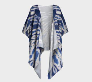 Aperçu de Shibori #1 Draped Kimono