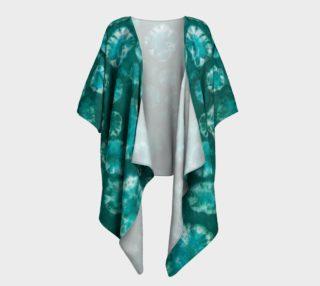 Aperçu de Shibori #2 Draped Kimono
