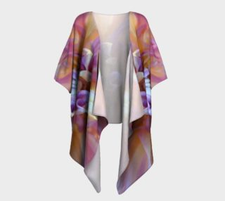 Floral Melody #3 Draped Kimono preview