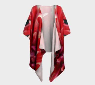 Floral Melody #5 Draped Kimono preview