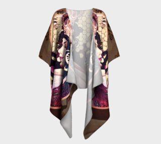 Queen Bee Draped Kimono preview