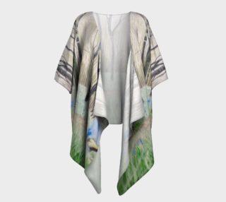 """""""Peace"""" Draped Kimono preview"""