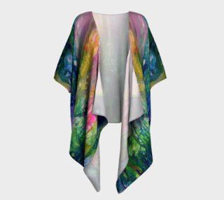Aperçu de Golden Rainbow Kimono shirt