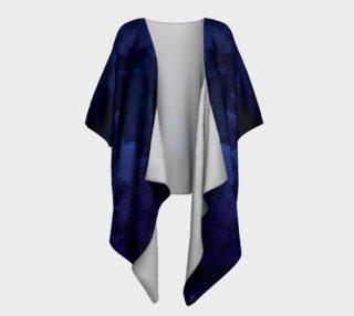 Aperçu de Sorcerer's Apprentice Blue Draped Kimono For Fantasy Geeks