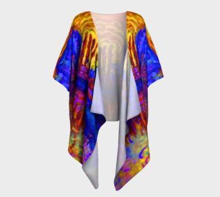 Atomic Arles Draped Kimono preview