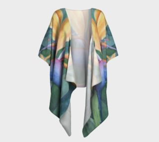 Bird of Paradise Draped Kimono preview