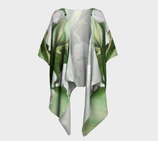Lily of the Valley Draped Kimono preview