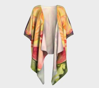 Yellow Rose Draped Kimono preview