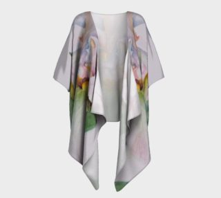 White Iris Draped Kimono preview