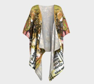 Aperçu de Dragon Fly Gold Kimono