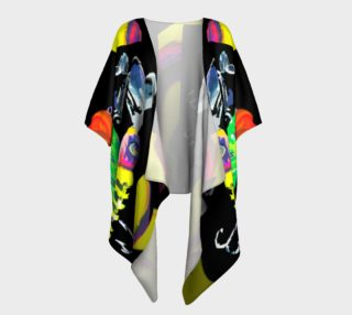 The New a-Lure-ing You 3-d Draped Kimono preview