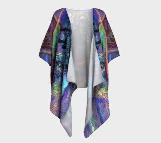 Tuscany Harvest Draped Kimono preview
