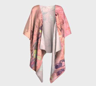 WI Romantic Blush Draped Kimono preview
