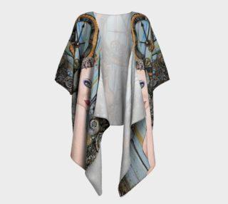 Aperçu de Clockwork Girl Draped Kimono