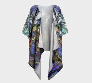 Aperçu de Gears and Roses Draped Kimono