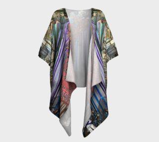 Aperçu de Colours of Your Art Draped Kimono